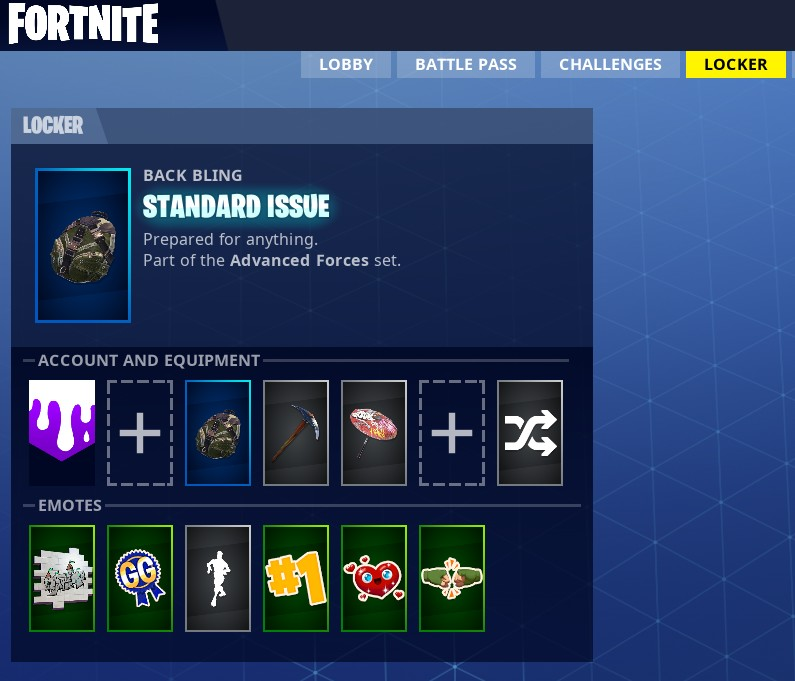 fortnite backbling glitch fix